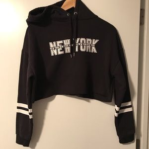 Crop New York sweatshirt